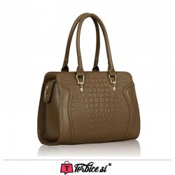 Torbica LeeSun London - Croc Tote Bag